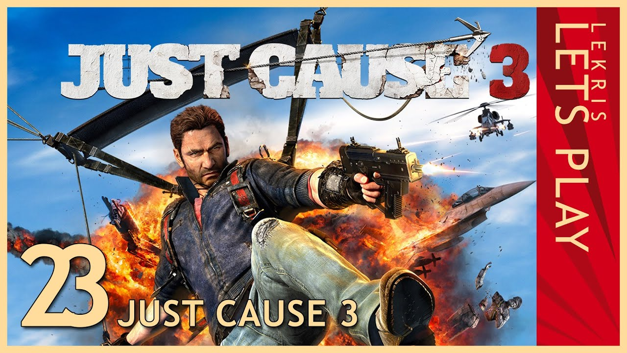 Just Cause 3 - Twitch Stream #23 17.05.2016 - 20:30 - Falco Maxime