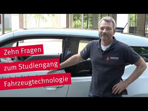 Vorstellung des Studiengangs Fahrzeugtechnologie