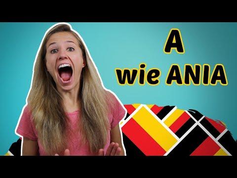 GERMAN PRONUNCIATION 1: The German Alphabet 🔠🔠🔠 (видео)