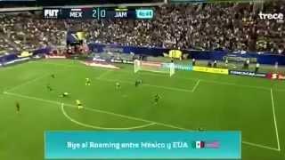 Segundo gol del equipo de México
