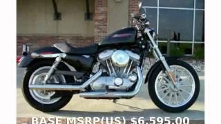 10. 2006 Harley-Davidson Sportster 883 - Review & Info