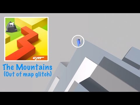Dancing Line - The Mountains (Out of map glitch)