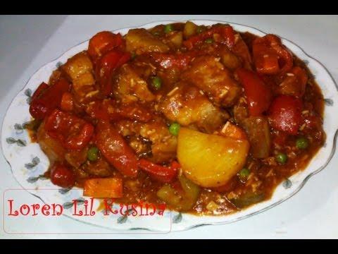 Pork Caldereta Filipino Style Recipe