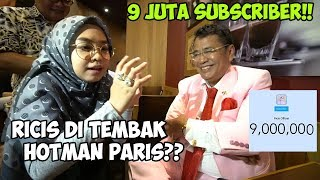 Video DETIK DETIK 9 JUTA SUBSCRIBER DIKASIH CINCIN 9 MILYAR HOTMAN PARIS - Ricis Kepo MP3, 3GP, MP4, WEBM, AVI, FLV Juli 2019