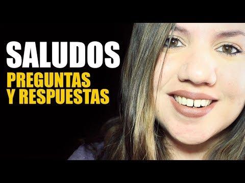 Saludos ASMR ESPAÑOL