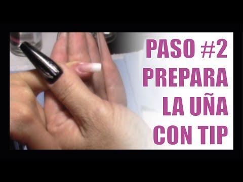 Videos de uñas -  Uñas Acrílicas Para Principiantes // VIDEO #3 Como Preparar una Uña con TIP