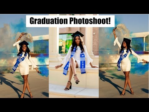GRADUATION PHOTOSHOOT!!!! + MAKEUP DISASTER....