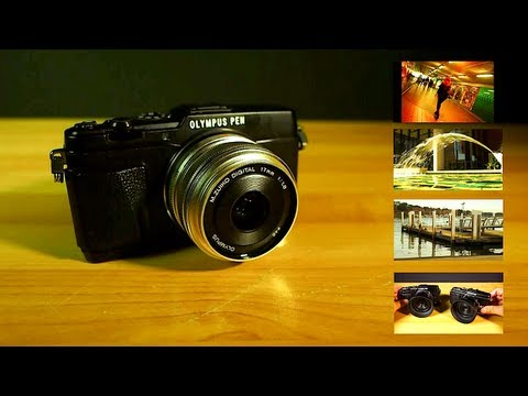 Olympus PEN E-P5 Full Hardware Review Plus WiFi Demo with iPhone