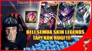 Video AKHIRNYA LENGKAP SEMUA SKIN LEGENDS TAPI KOK RUGI ?? Mobile Legends Indonesia MP3, 3GP, MP4, WEBM, AVI, FLV Agustus 2018