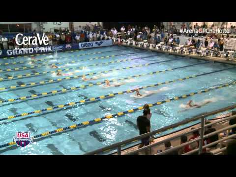 Men's 200m Freestyle Heat 7 - Prelims 2014 ARENA Grand Prix at Charlotte