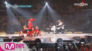Video GOT7(갓세븐) VS MONSTA X(몬스타X) - Dance Battle M COUNTDOWN - FEELZ in LA 150813 EP.437 MP3, 3GP, MP4, WEBM, AVI, FLV November 2017