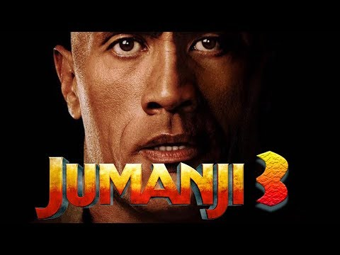 Jumanji 3 - official Dwayne Johnson Announcement! Kevin Hart dies! (2019)
