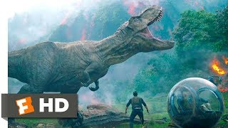 Nonton Jurassic World  Fallen Kingdom  2018    Saved By Rexy Scene  4 10    Movieclips Film Subtitle Indonesia Streaming Movie Download
