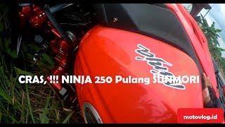 Video Crash,!! Ninja 250cc Pulang Sunmori dari Bukit Soeharto Bareng Komunitas Ninja (CONSEBC) MP3, 3GP, MP4, WEBM, AVI, FLV Oktober 2018