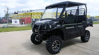 6. 2018 Mule Pro FXT EPS LE with Lift, Wheel and Tire Upgrade Windshield and More