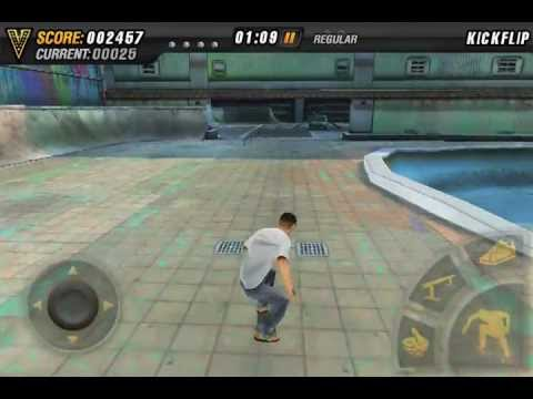 iphone video game - For more details visit: http://mikevskateparty.com The only HD skateboarding game available! Play with your friends using the multiplayer mode, complete achi...