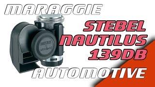 3. Stebel Nautilus 139db horn - installation review Suzuki Intruder Volusia