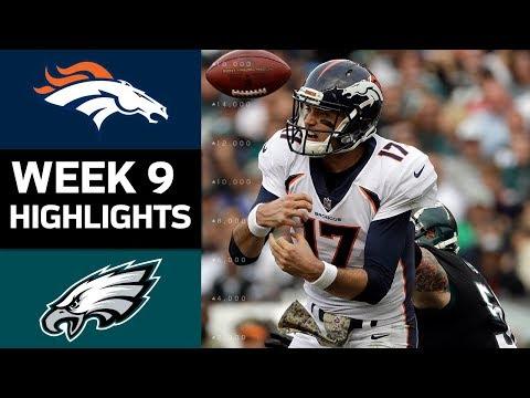 Broncos vs. Eagles | NFL Week 9 Game Highlights - Thời lượng: 8:15.