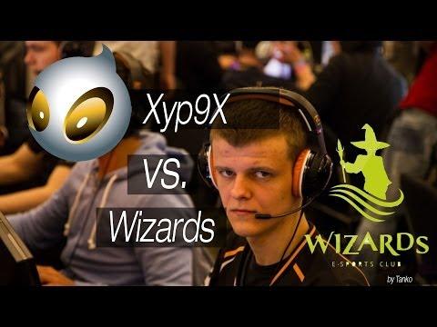 Отличный ACE(-5) от Xyp9x с подсадкой VS Wizards @FACEIT 2014 CS:GO