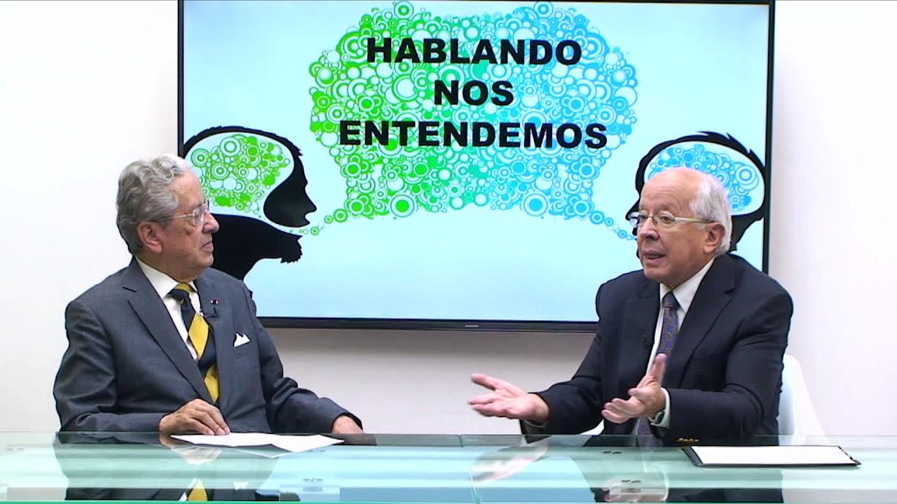HABLANDO NOS ENTENDEMOS - INVITADO DR JOSÉ AYALA LASSO TEMA LENGUA Y RELACIONES INTERNACIONAL