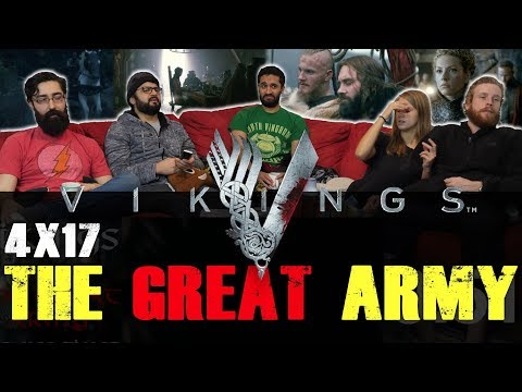 Vikings - 4x17 The Great Army - Group Reaction
