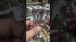 Классическая рюмка из серебра