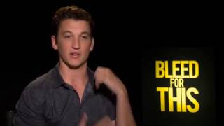 Interview: Vinny Pazienza Put The Pressure on Miles Teller for Bleed For This