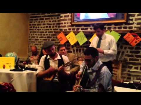 Davis's rehearsal dinner serenade