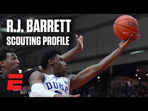 R.J. Barrett preseason 2019 NBA draft scouting video | DraftExpress
