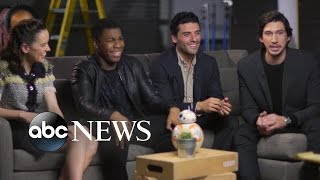 Video 'Star Wars: The Force Awakens' Cast on Training for Roles MP3, 3GP, MP4, WEBM, AVI, FLV Juni 2018
