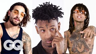 Video Rae Sremmurd, 21 Savage and More Break Down Their Tattoos | Best of Tattoo Tour | GQ MP3, 3GP, MP4, WEBM, AVI, FLV September 2019