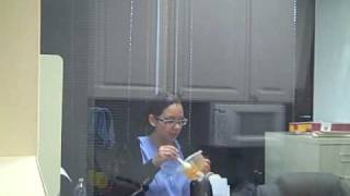 Ghost In The Office Prank