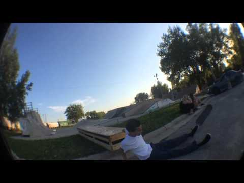 A Day at Our Hometown Skatepark (Mason City Skatepark)