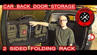 The first episode from the short series about our tips/ideas on how to use/create some extra storage in a car. In our case at the Toyota FJ Cruiser (FJ = FREEDOM JUDGE). This idea of the back door folding rack is not new, but we as always add/create our own version based on our vision of such a product. We believe everybody would enjoy any extra space or mounting options in their car!------------------------------------------------------------------------------------------------------FOR MUCH MORE VISIT:http://www.modernsurvivaltactics.comhttp://www.store.modernsurvivaltactics.comhttps://www.google.com/+MODERNSURVIVALTACTICS