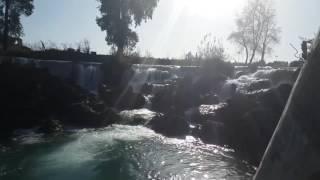 the waterfalls of mersin  turkey