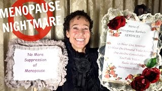 Most women endure nightmare scenarios when they approach menopause. They have no idea what to expect in advance, no idea what's happening once it starts, and no idea where to go for help after they've become desperate for help. It just doesn't have to be that way! In this video, I'll depict what's typical (and unfortunate) for the majority of women. And I'll set the stage for helping you prevent that same nightmare. Enter the DVD giveaway here: https://menopausetaylor.me/giveaway/Visit my website: https://menopausetaylor.me/Click here to print the worksheet: http://bit.ly/2bgQ2WqClick here to find the outline notes: http://bit.ly/2aIaWLZWatch every Menopause Taylor episode from the beginning: https://www.youtube.com/playlist?list=PLOUBdLFwUtyYimWltwfsEQneVYjIaMQH-Check out my book, Menopause: Your Management Your Way ... Now and for the Rest of Your Life: https://www.amazon.com/Menopause-Your-Management-Rest-Life/dp/143920795X?ie=UTF8&keywords=menopause%20barbie&qid=1461746042&ref_=sr_1_1&sr=8-1Connect with me on social media:Facebook: https://www.facebook.com/Menopause-Barbie-356641841173232/Twitter: https://twitter.com/BarbieTaylorMDInstagram: https://www.instagram.com/menopausebarbie/