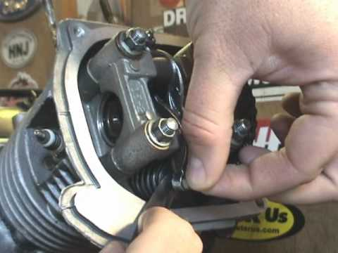 GY6 - How to adjust the valves on a GY6 engine, common in scooters and go-karts.