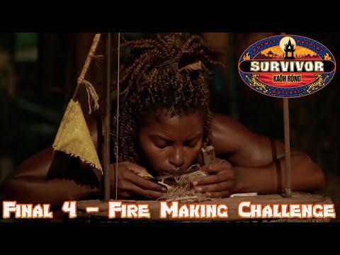 Fire Making Challenge (Part 1 of 2) S32E14 Tribal Council Final 4 (Part 2 of 3), Survivor: Kaôh Rōng