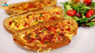 Оригинальный сытный вкусный завтрак Омлет в кусочке хлеба по рецепту Семейной кухни. Омлет с беконом, сыром и болгарским цветным перцем. Горячие бутерброды. Завтрак что приготовить?Ингредиенты:Для 3 порций:3 куска хлеба3 шт. яйца100 гр бекон60 гр сырсоль, черный перецболгарский перец:1/2 красный1/2 зеленый1/2 желтый Products:For 3 portions of the meal you'll need:3 pieces of bread3 eggs100g. of bacon60g. of cheesesalt, black pepperbell pepper:1/2 of red pepper1/2 of green pepper1/2 of yellow pepperНАШ САЙТ СЕМЕЙНАЯ КУХНЯ с подробным описанием рецепта и фотографиями http://familykuhnya.com/ИНСТАГРАМ: http://instagram.com/familykuhnyaЖдем фото ваших кулинарных шедевров в нашей группе http://vk.com/familykuhnyaНаш новый канал о жизни! HappyLife Family https://www.youtube.com/channel/UCUdHxVVLBD-p9k2b7FywargГОРЯЧИЕ БУТЕРБРОДЫ - КЕСАДИЛЬЯ 3 рецепта - ну, оОчень вкусные! https://www.youtube.com/edit?video_id=BZ1ptmKnoiIБЛЮДА ИЗ КУРИЦЫ И ИНДЕЙКИ https://www.youtube.com/playlist?list=PL9BZnBiHjujxgxuagsXpMY4HXp1KlT7JxМЯСНЫЕ БЛЮДА ИЗ СВИНИНЫ И ГОВЯДИНЫ https://www.youtube.com/playlist?list=PL9BZnBiHjujz2qkx2LfJk7UmI-VV1Zt3UРЫБНЫЕ БЛЮДА https://www.youtube.com/playlist?list=PL9BZnBiHjujyDFTg1JdMQ8biIkP55hAe7