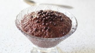 Chia Chocolate Pudding - Chocolate Dessert from Chia Seeds