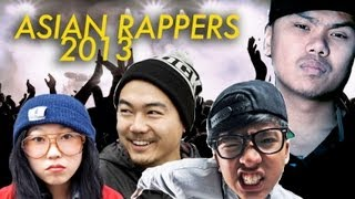 HOTTEST ASIAN RAPPERS 2013
