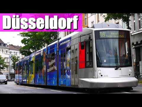 Düsseldorfer Straßenbahn - mit Neubaustrecke zum ISS  ...