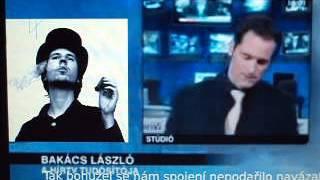 Video První hoře v maďarské televizi