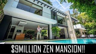 Video $9MILLION ZEN HOLLYWOOD MANSION MP3, 3GP, MP4, WEBM, AVI, FLV Juli 2019
