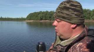 Рыбалка на севере  Окуни гиганты