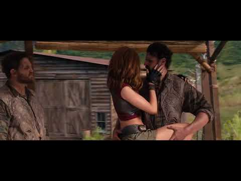 Jumanji 2 Dance Fight Scene