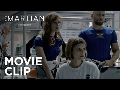 The Martian (Clip 'Storm Report')
