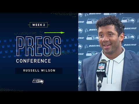 Russell Wilson Postgame Press Conference at Steelers   2019 Seattle Seahawks