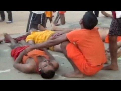 Ινδία: Προσκυνητές ποδοπατήθηκαν μέχρι θανάτου