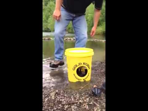 The Best Gold Panning Kit  The Gold Rush Nugget Bucket